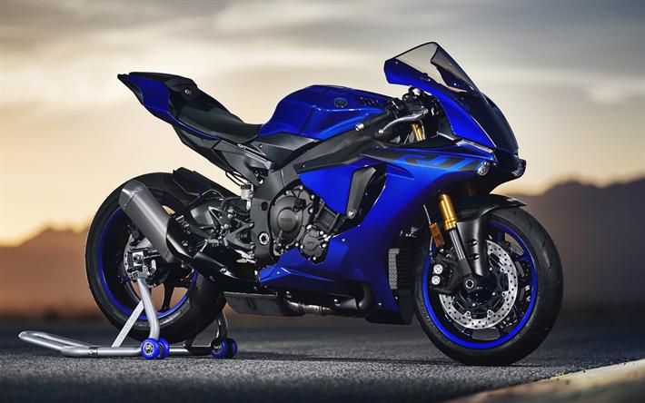 ダウンロード画像 ヤマハyzf R1 2019 青スポーツバイク 新青yzf R1
