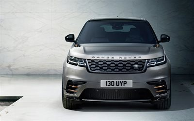 Range Rover Velar, Land Rover, 2017, Front view, luxury cars, new cars, Range Rover