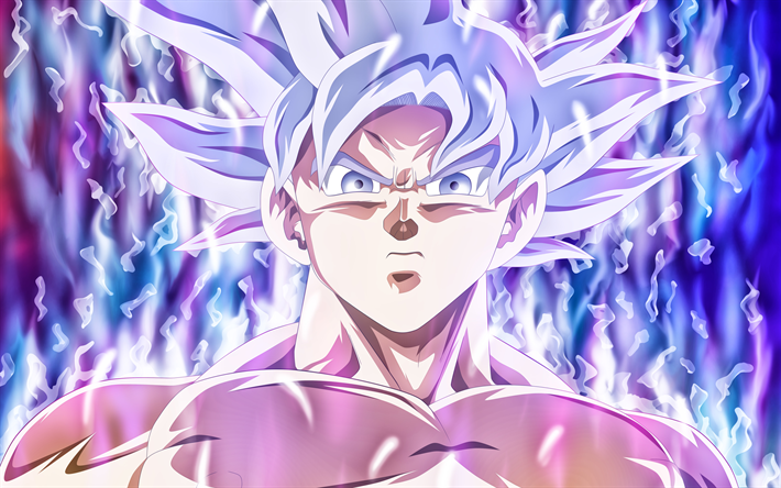 Télécharger Fonds D écran Ultra Instinct De Goku De L Art