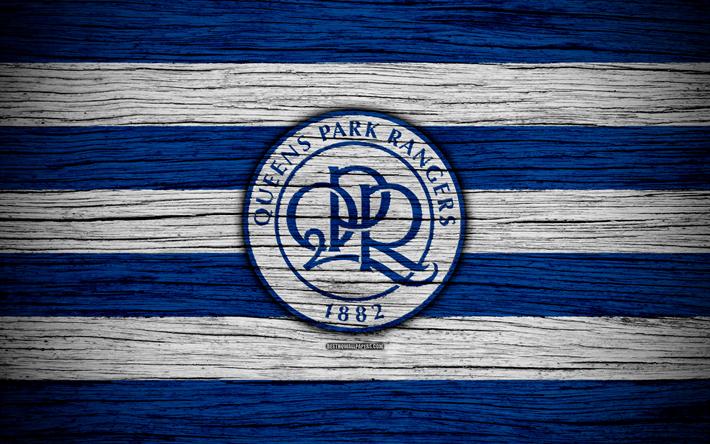 Download Wallpapers Queens Park Rangers FC, 4k, EFL