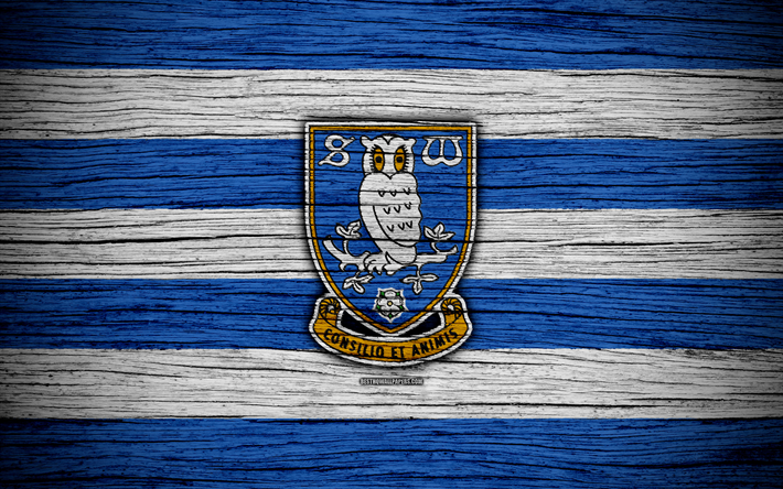 Download Wallpapers Sheffield Wednesday FC, 4k, EFL