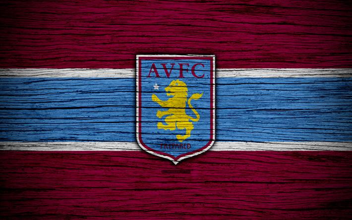 Download Wallpapers Aston Villa FC, 4k, EFL Championship