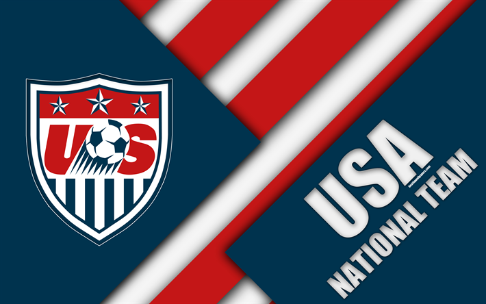 Sport Wallpaper U S States: Download Wallpapers USA National Football Team, 4k