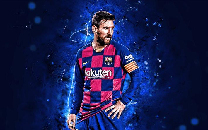 تحميل خلفيات ليونيل ميسي 2020 برشلونة Fc المباراة الدوري