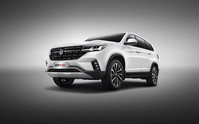 Dongfeng Forthing T5L, 4k, studio, 2020-autot, Katumaasturit, 2020 Dongfeng Forthing T5L, kiinalaisia autoja, Dongfeng