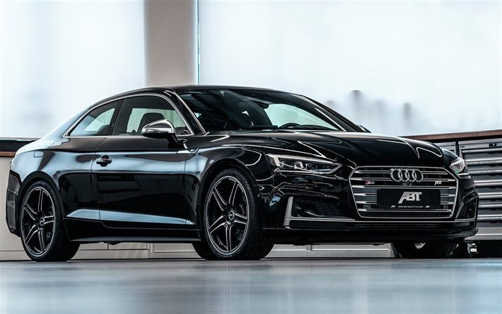Download wallpapers abt tuning audi s5 2018 cars gernan cars black s5 audi for desktop - Best wallpapers for s5 ...