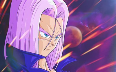 DBZ, Trunks, Dragon Ball Z, manga