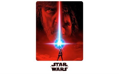 Star Wars, The Last Jedi, 2017, 4k, poster, new movies