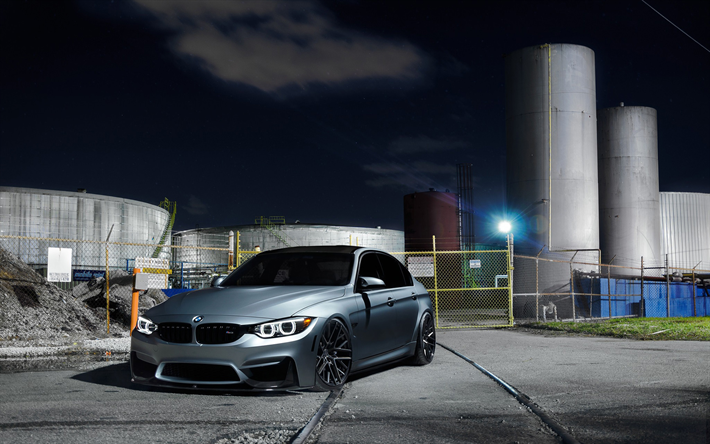 Download wallpapers BMW M3, factory, F80, tuning, 2018 ...