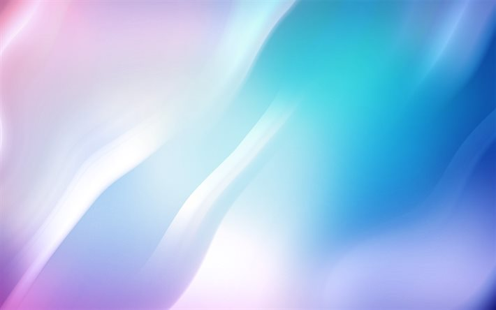 blue purple abstract background, waves background, blue purple creative background, abstraction background, blue waves background