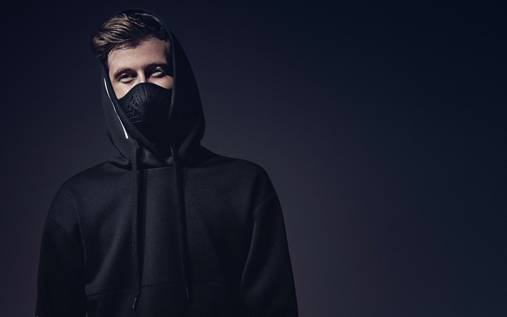 Download Wallpapers 4k Alan Walker 2018 Superstars Dj