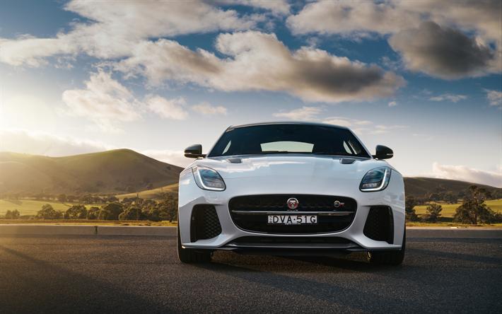Descargar Fondos De Pantalla Jaguar F Type Svr Coupe 4k