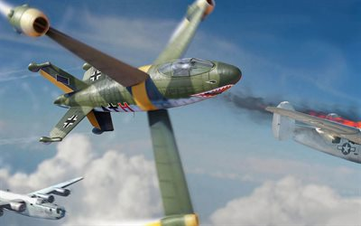 Focke-Wulf Triebflugel, vertical takeoff fighter, German fighter, World War II, Luftwaffe, Focke-Wulf