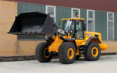 JCB 456 ZX, special machinery, wheel loader, JCB