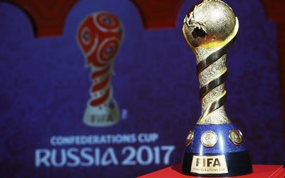 FIFA Confederations Cup, Trophy, Russia 2017, gold cup