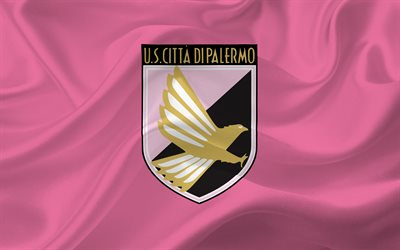 Palermo, Serie A, football, Italy, emblem of Palermo, football club