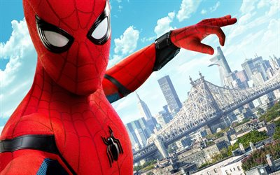 Spider-Man Homecoming, 2017, Superhero, new movies, Spider-Man