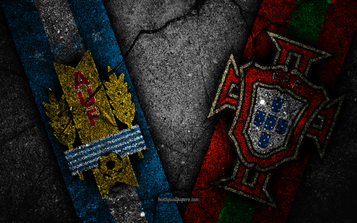 Download Wallpapers Uruguay Vs Portugal 4k Fifa World Cup 2018