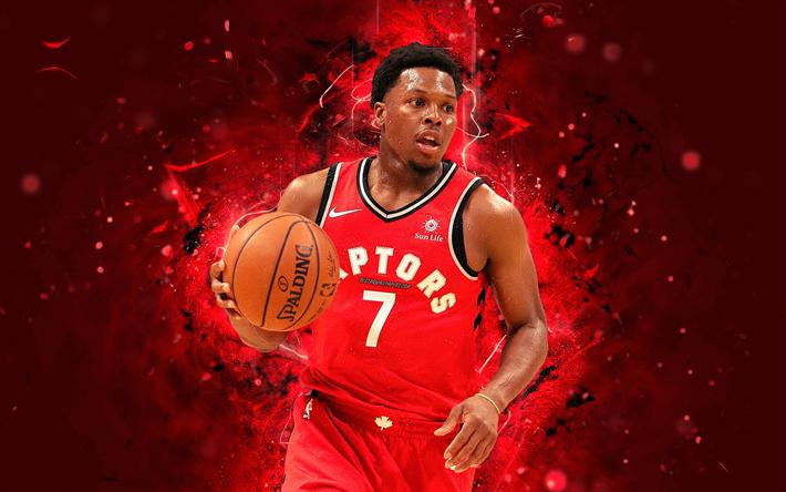 Kyle Lowry 4k Abstract Art NBA Basketball Stars Toronto Raptors