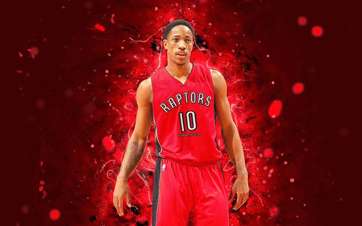 DeMar DeRozan 4k Abstract Art NBA Basketball Stars Toronto Raptors
