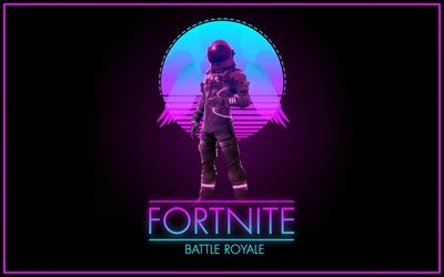 Dark Voyager, 4k, Fortnite characters, fan art, 2019 games, Fortnite Battle Royale, Fortnite, Dark Voyager Fortnite