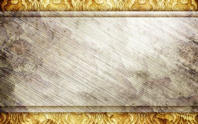 vintage frames, 4k, ornamental backgrounds, artwork, vintage backgrounds, ornaments, background with line