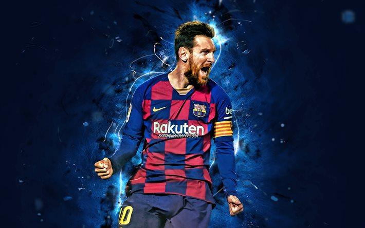 تحميل خلفيات ليونيل ميسي 2020 برشلونة Fc الدوري الهدف