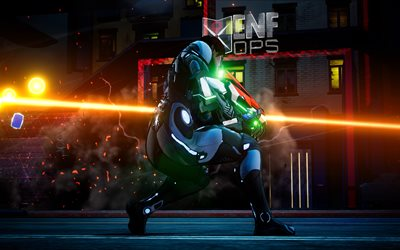 Crackdown 3, warrior, 2017 games, 4k, shooter