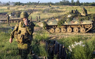 bmp-2, teachings of 2016, canadian military, ukraine, soldiers