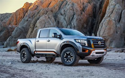 suvs, 2016, nissan titan, warrior concept, pickups