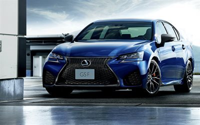 sedan, blue lexus, sports sedan, 2016, new cars, lexus
