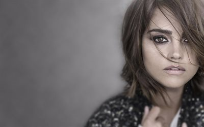 portraits, jenna coleman, actress, girls