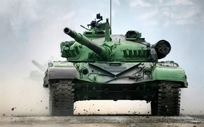 Battle Tank, M-84, landfill, army, tanks