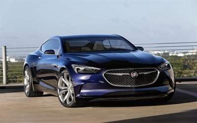 luxury cars, buick avista, 2016
