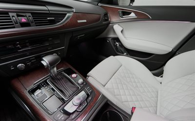 audi a7, 2016, interior, salon