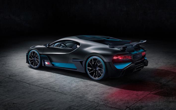 Télécharger fonds d'écran 4k, Bugatti Divo, vue de l'arrière, hypercars, 2018 voitures, de ...
