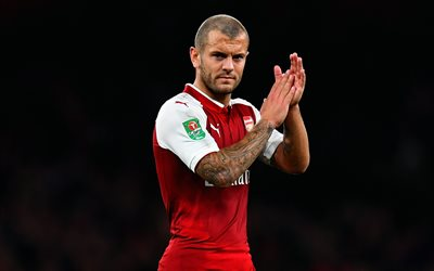 Jack Wilshere, Arsenal, match, footballers, The Gunners, Premier League