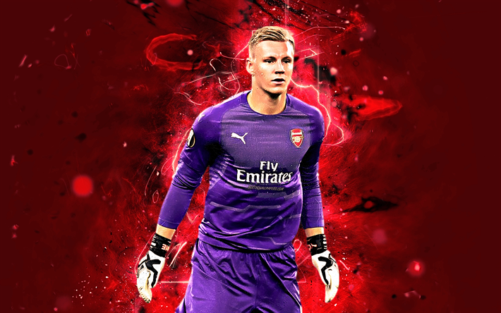 Download Wallpapers Bernd Leno, German Footballer, Arsenal