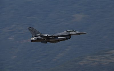 General Dynamics F-16 Fighting Falcon, American combat aircraft, military aircraft, F-16, US Air Force, USA