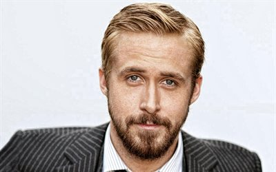 Ryan Gosling, portrait, canadian actor, hollywood star, famous actors, Ryan Thomas Gosling