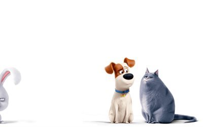 The Secret Life of Pets, 2016, Max, Chloe, dog, cat
