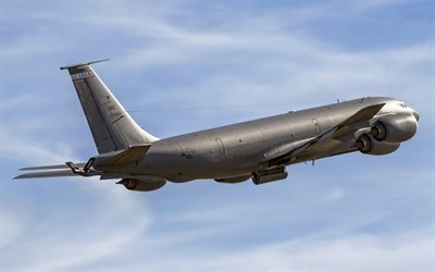 Boeing KC-135R Stratotanker, tanker aircraft, military aircraft
