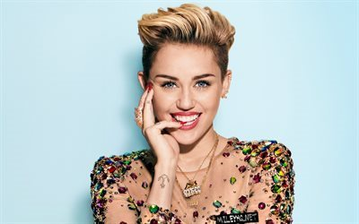 Miley Cyrus, american singer, smile, beauty