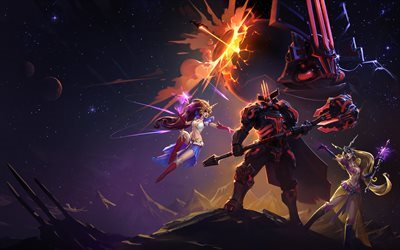 Space Lord Leoric, characters, Heroes of the Storm