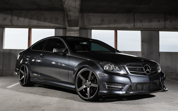 Download Wallpapers Mercedes Benz C Class C250 Sports