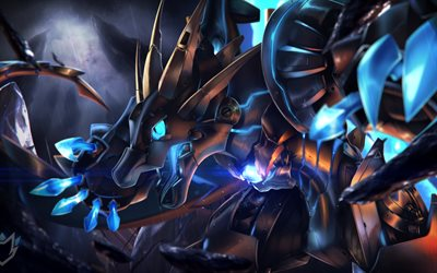dragon, cyber warrior, art, Mecha