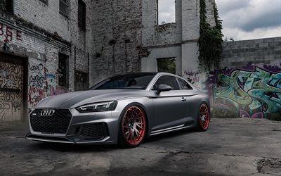 Herunterladen Hintergrundbild Audi Rs5 Coupe 2018 Matt