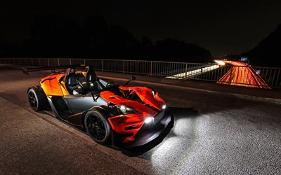 Wimmer RS KTM X-Bow R, 4k, tuning, roadster, 2020 voitures, KTM X-BOW GT, KTM