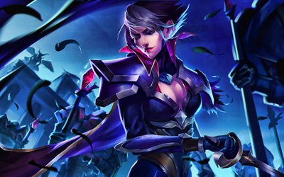 Fiora, MOBA, League of Legends, 2020 games, female warrior, artwork, Fiora League of Legends