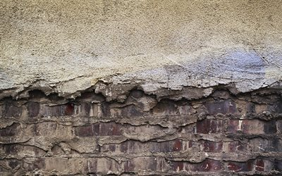 brick wall texture, grunge texture, stone texture, gray stone background, brick texture, cement texture
